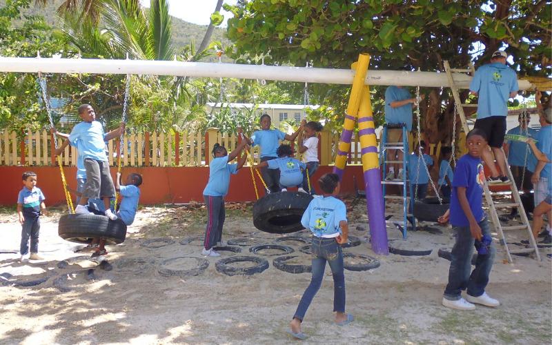 Greening Ivan Dawson Primary School