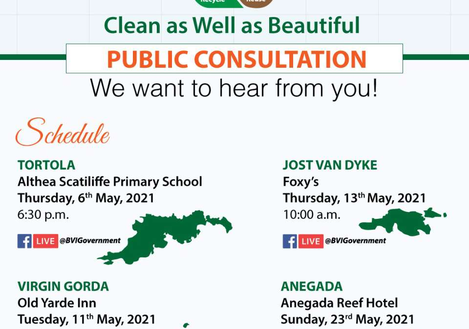 BVI Solid Waste Management Strategy – Public Consultation