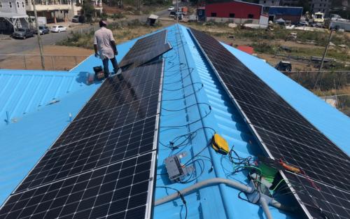 Solar Panel Installation @ YEP